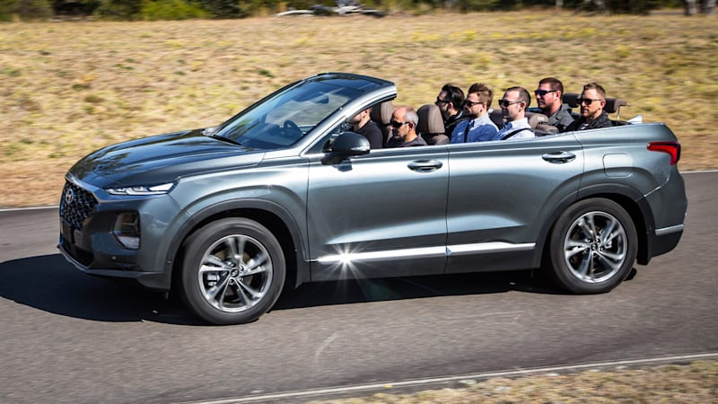 Certified Preowned Bmw >> Hyundai Santa Fe Cabriolet is real, but not for production - Autoblog