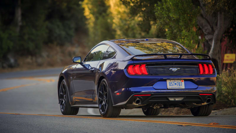 2018 Ford Mustang Ecoboost Review Magnetic Suspension Is A Must Autoblog
