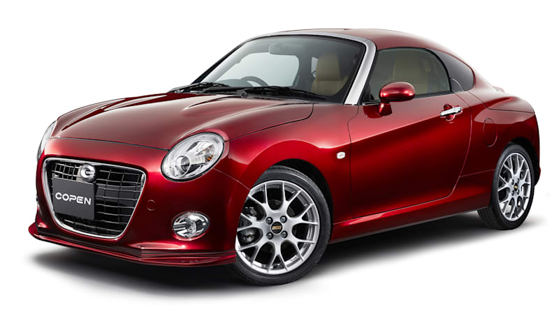 daihatsu copen looks great as a shooting brake or coupe autoblog. Black Bedroom Furniture Sets. Home Design Ideas