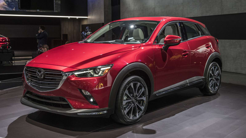 2a882fb11a2b 2019 Mazda CX-3 small crossover will start at  21365