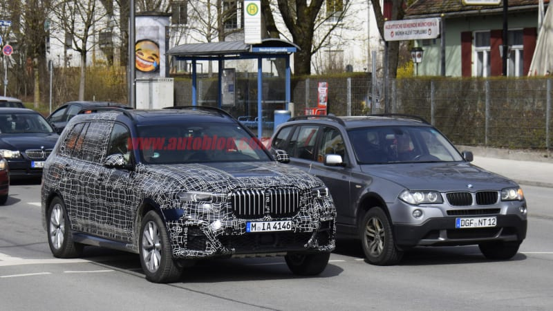 up ing bmw x7 crossover spied inside and out autoblog BMW I8 Concept