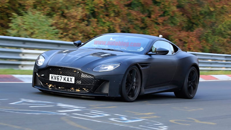 2019 Aston Martin Vanquish Like A Handsomer Db11 With More Grunt