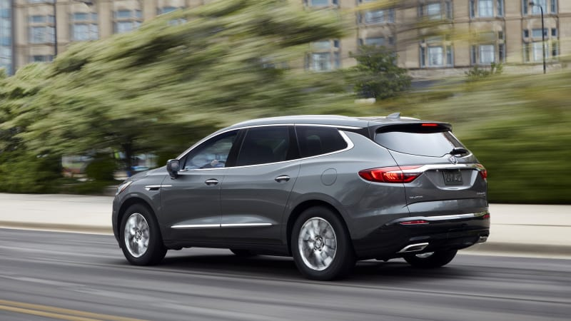 2018 Buick Enclave First Drive Review Fortress Of Quietude