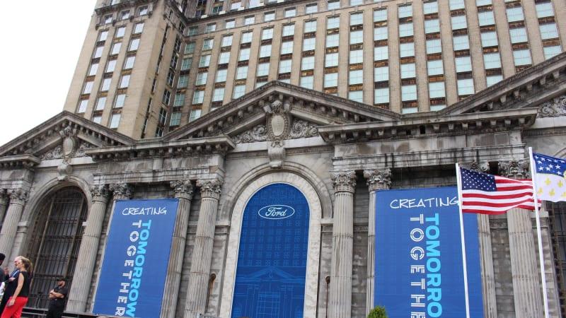 Records show Ford paid $90 million for Detroit train depot - Autoblog