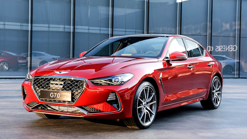 Genesis G70 vs sport sedan rivals: How it compares on paper