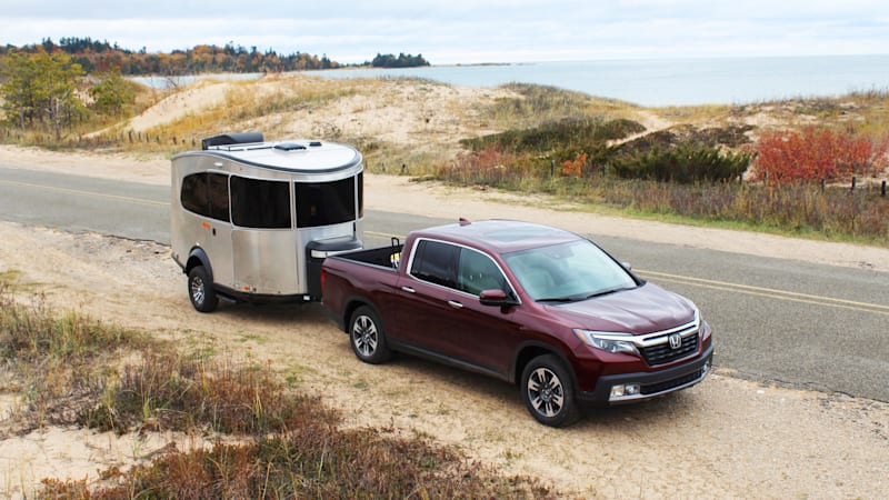 2018 Honda Ridgeline and Airstream Basecamp X