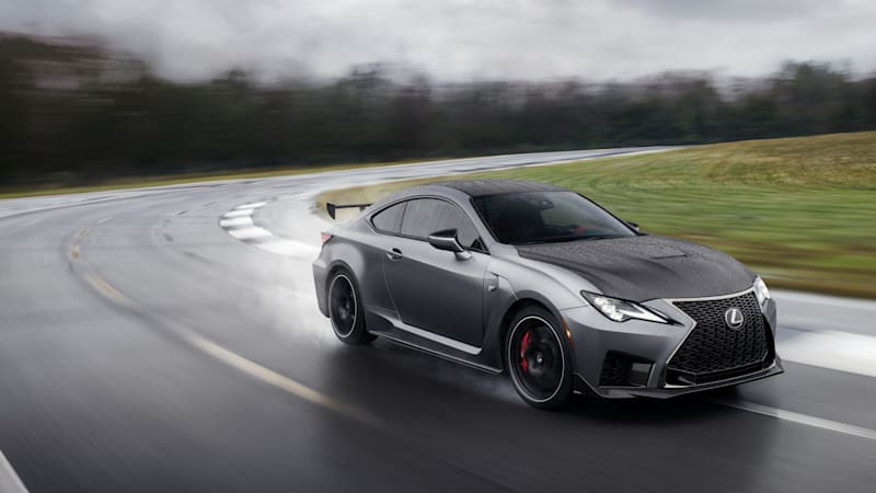2020 Lexus RC F Track Edition First Drive Review