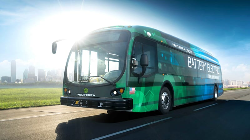 Trump climate decision energizes business for Proterra electric bus