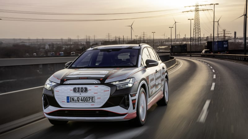 2022 Audi Q4 E-Tron electric packs Q7-like space in a city-friendly package