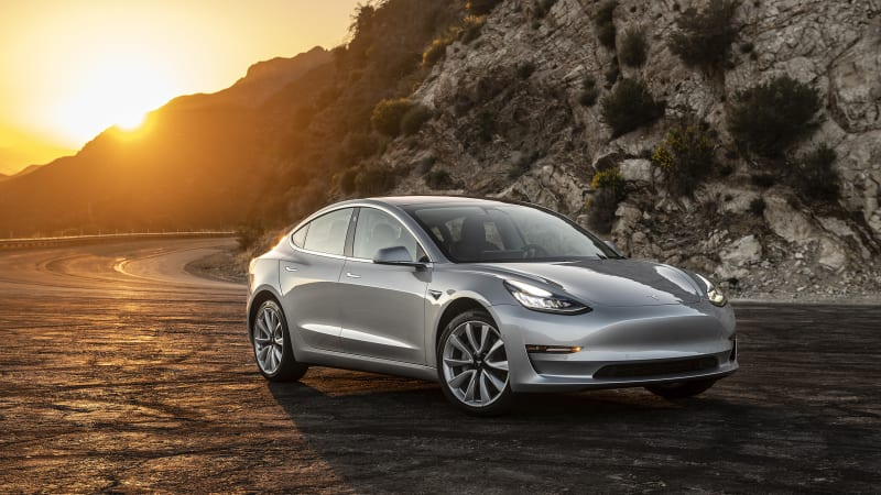 Tesla says Model 3 is best-selling midsize premium sedan in America