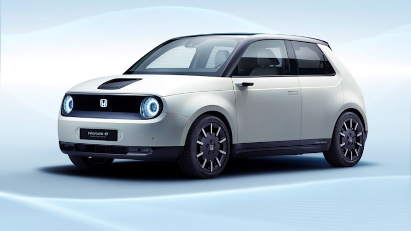 Honda E Is The Official Production Name Of Its New Ev Hatchback
