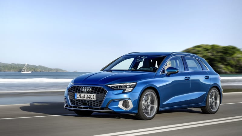 2020 Audi A3 Sportback Introduced With More Tech New Design Autoblog