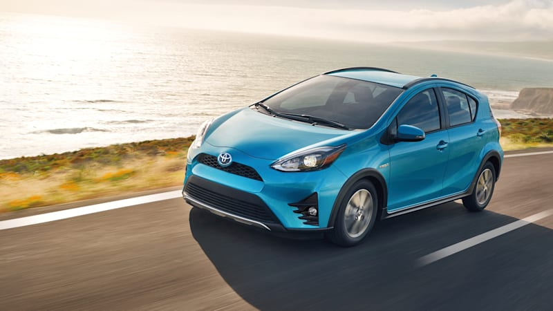 The Baby Prius Hatchback Has Been Sold Since 2017