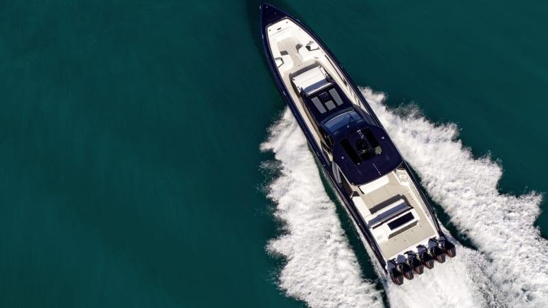 Cigarette Tirranna AMG Edition is a 2,700-horse oceangoing G-Wagen