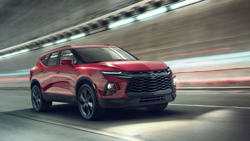 Chevy Certified Pre Owned >> 2019 Chevy Blazer revealed with details and photos - Autoblog