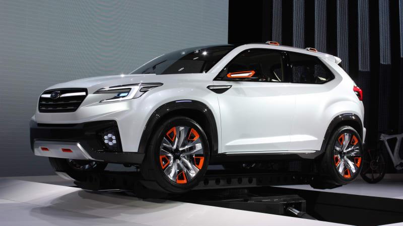 Subaru Viziv Future Concept Conceptualizes The Future Autoblog