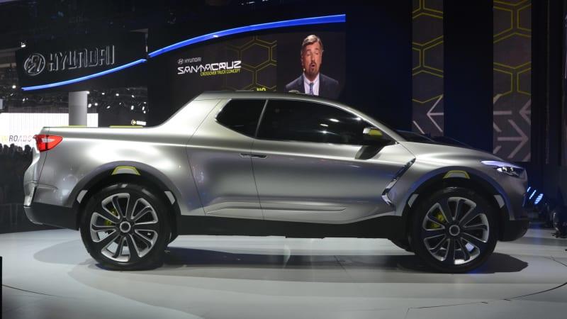 Hyundai Santa Cruz pickup 'will be a lot more distinctive' than the concept