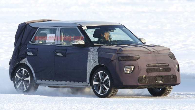 Next Generation Kia Soul Retains Boxy Look And Gains Split