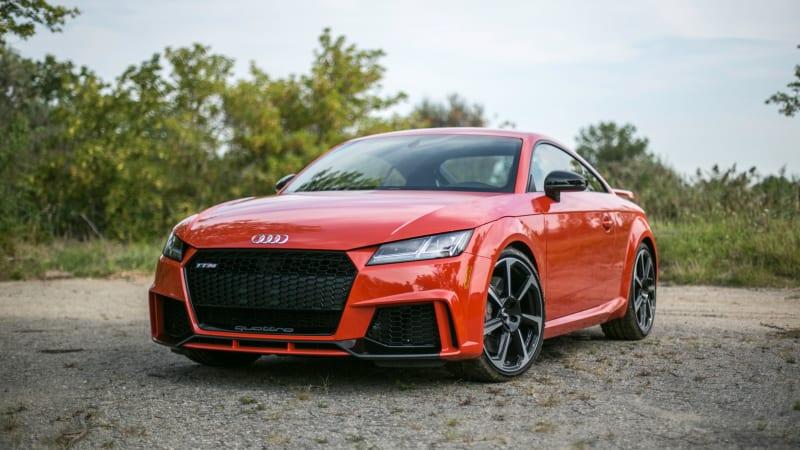 2018 Audi Tt Rs Drivers Notes Five Pots Of Turbocharged Honey