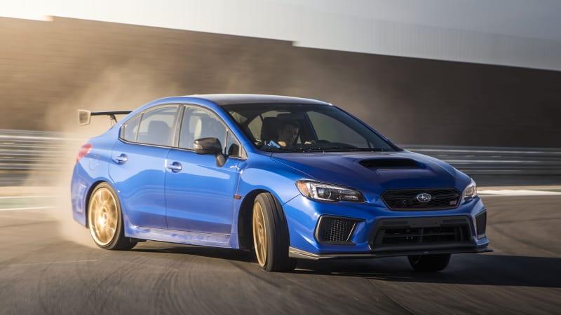 2018 Subaru WRX STI Type RA Drivers