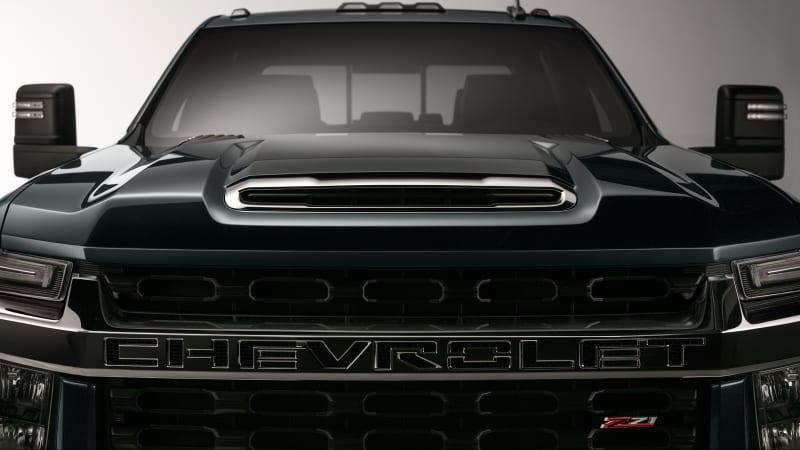 2020 Chevy Silverado Hd Teased Ahead Of 2019 Debut Autoblog