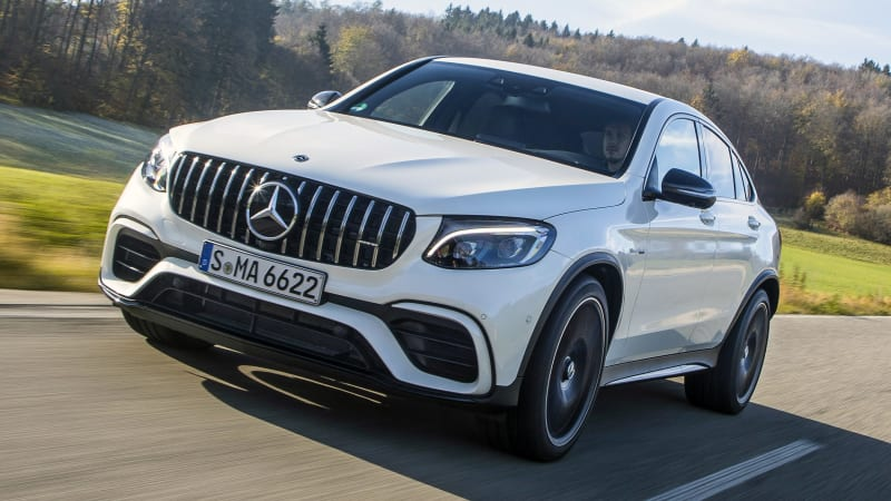 2018 Mercedes-AMG GLC 63 S Coupe Drivers