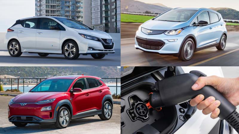2019 Nissan Leaf E Stats Compared With Bolt Ev Kona Electric