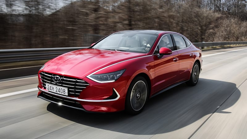 2020 hyundai sonata review our first drive of the redesigned midsize sedan autoblog 2020 hyundai sonata review our first