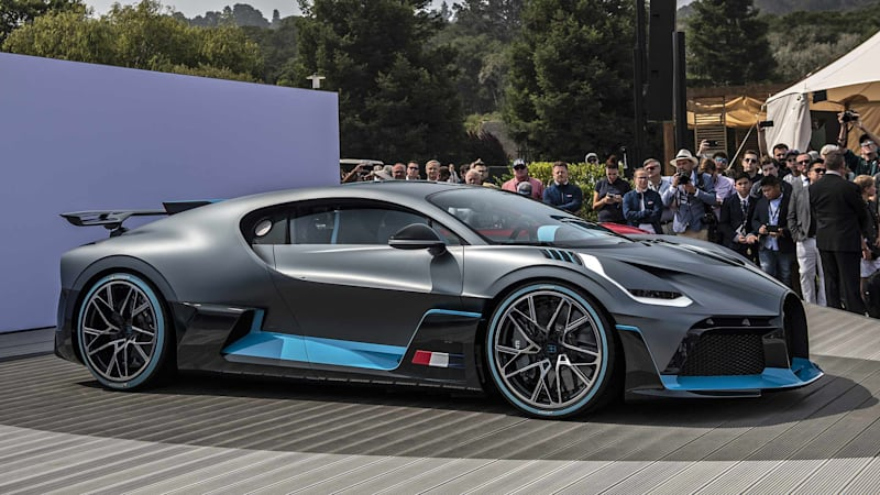 New limited-edition Bugatti rumored for Pebble Beach