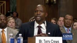 L'acteur Terry Crews explique au Congrès pourquoi il n'a pas repoussé l'homme qui l'a agressé