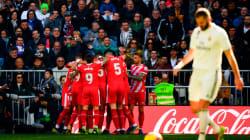 El Girona aleja al Madrid de la Liga en el Bernabéu