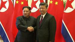 Xi Jinping a bien reçu Kim Jong Un à