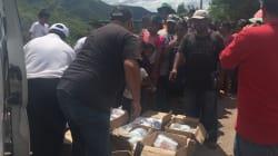 VIDEO: Así llegó la ayuda a Jolalpan,