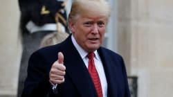 トランプ大統領「雨だから」とドタキャン 戦没者の追悼式典への欠席で批判殺到
