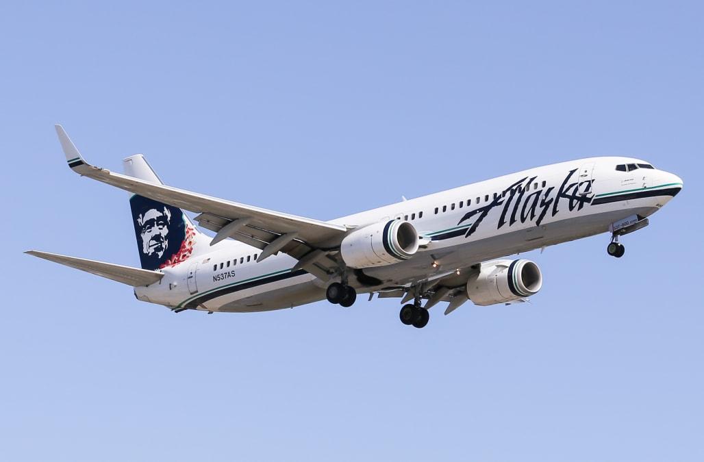 Naked passenger prompts Alaska Airlines flight return to