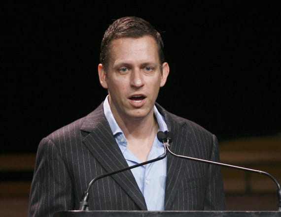 Peter Thiel sells Facebook stake, pockets $29M