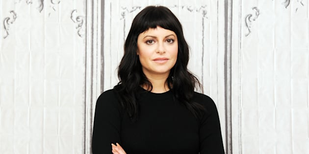 Sophia Amoruso promoting her new book 'Nasty Galaxy' in New York City in October.