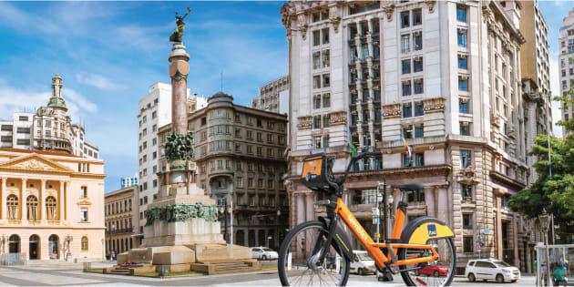 Le modèle brésilien du Bixi, le Fit, est déployé à São Paulo depuis mardi.
