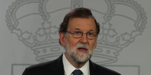 """Réunion de crise à Madrid après la déclaration d'indépendance catalane """"suspendue"""""""