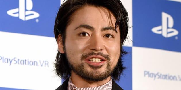 俳優の山田孝之さん=2016年10月