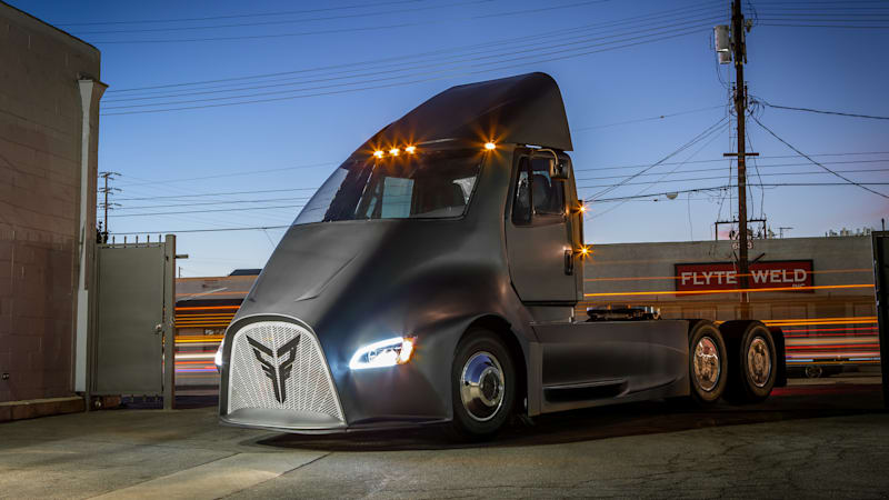 Thor Trucks is the newest electric semi startup