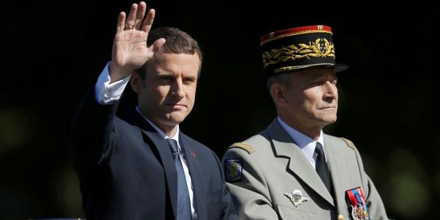 Entre Emmanuel Macron et Pierre de Villiers, son chef d'état-major, l'histoire d'une rupture en cinq actes