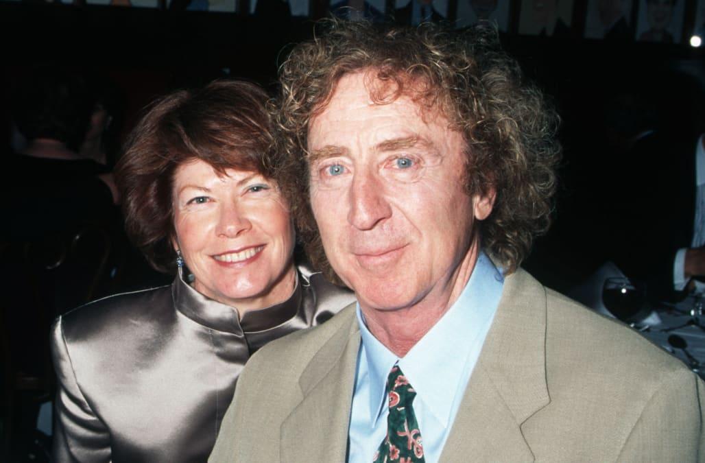 Gene Wilder's Widow Opens Up About Husband's Alzheimer's