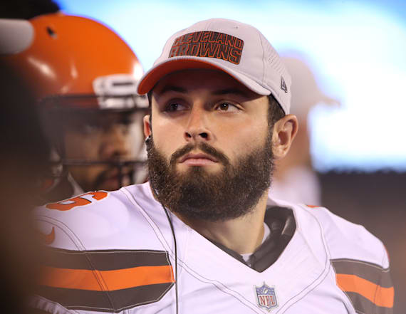 Browns coach: Baker Mayfield 'has a long way to go'