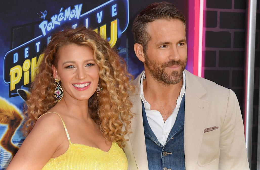 e03bac66bcbb2 Blake Lively is pregnant with baby No. 3 -- debuts baby bump at Ryan  Reynolds' movie premiere