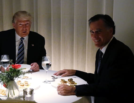 Romney welcomes endorsement of 'con man' Trump