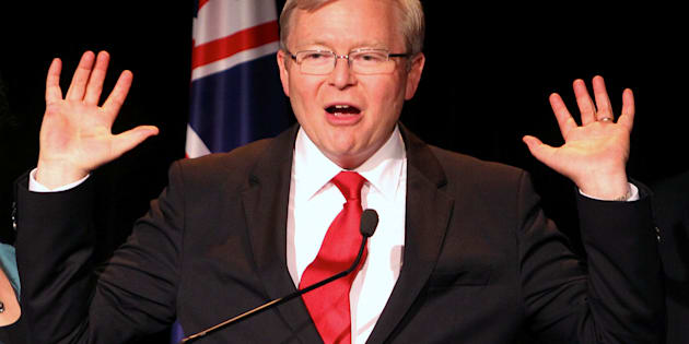 Former Australian Prime Minister Kevin Rudd says China is not rising to Trump's bait.