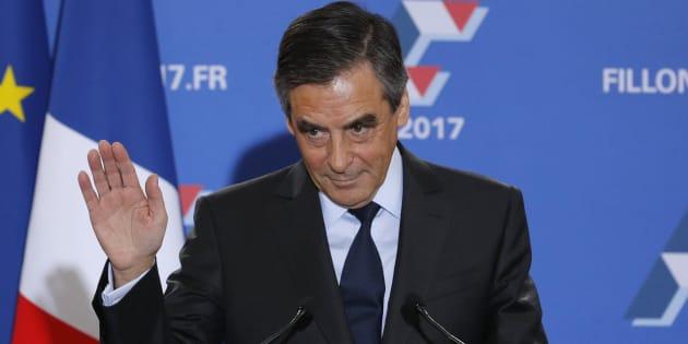 François Fillon, le 27 novembre à l'issue du second tour de la primaire de la droite et du centre. REUTERS/Philippe Wojazer