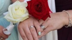 Aumenta un 10% el matrimonio entre personas del mismo sexo en