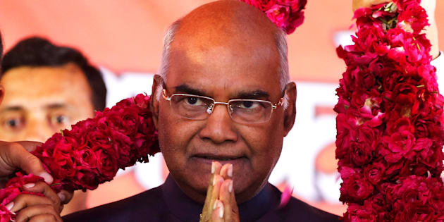 File photo of Ram Nath Kovind, India's 14th President of India.